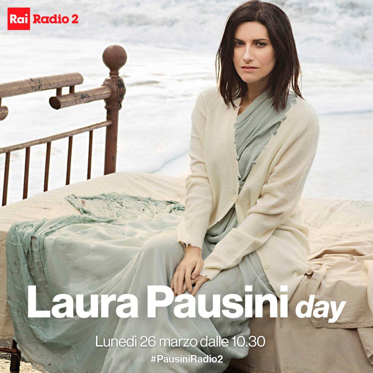 Il #26marzo @LauraPausini sarà in radio...