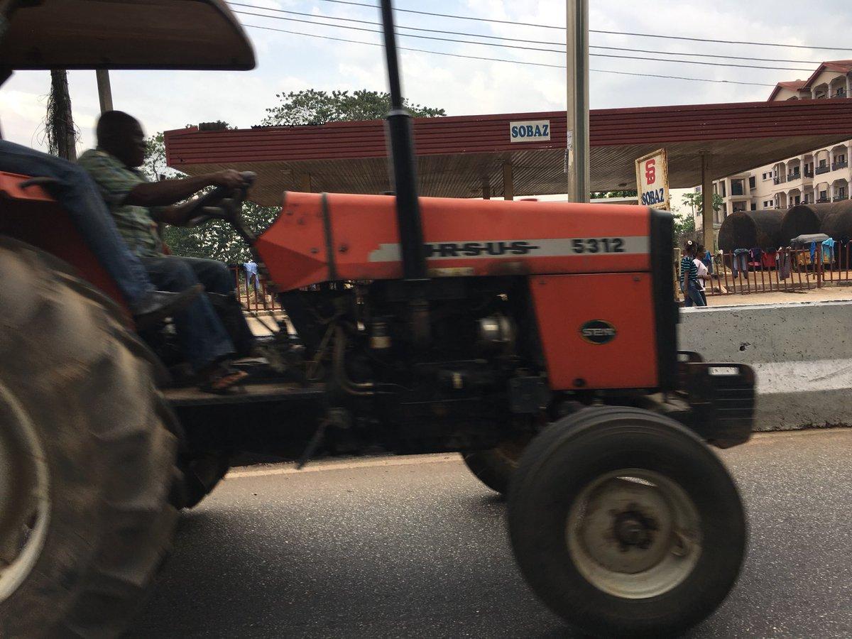 Coś takiego widziałem dziś w Umuahia w N...