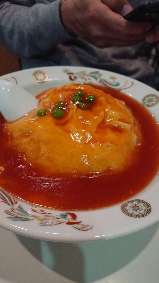 天津飯 ケチャップ