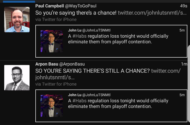 Paul Campbells Tweet So Youre Saying Theres A Chance On