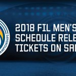 Image for the Tweet beginning: FIL releases 2018 Men's Lacrosse