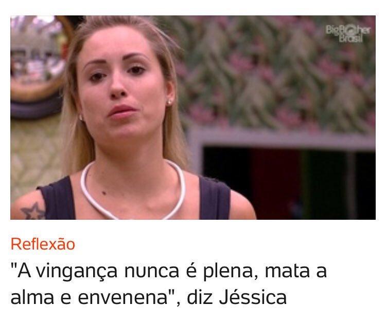 Jéssica é um poço de reflexão #bbb18 htt...