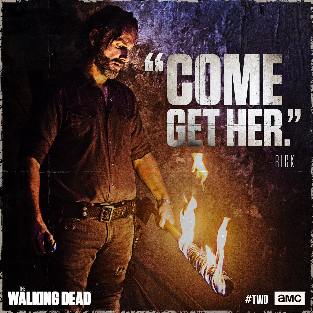 That's no way to treat a lady #TWD https...