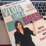 Wishing you were better at video? Check out one of the best books about vlogging you can get your hands on - #VlogLikeABoss https://t.co/wP1Tawc80C @Schmittastic