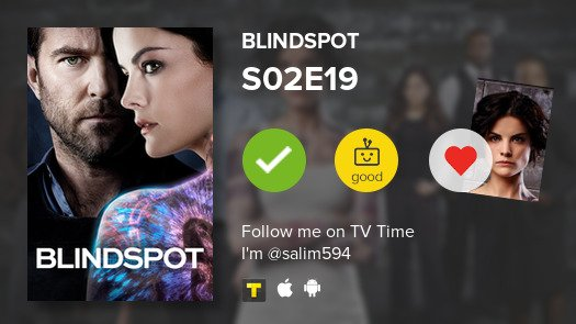I've just watched  S02E19 of Blindspot :...