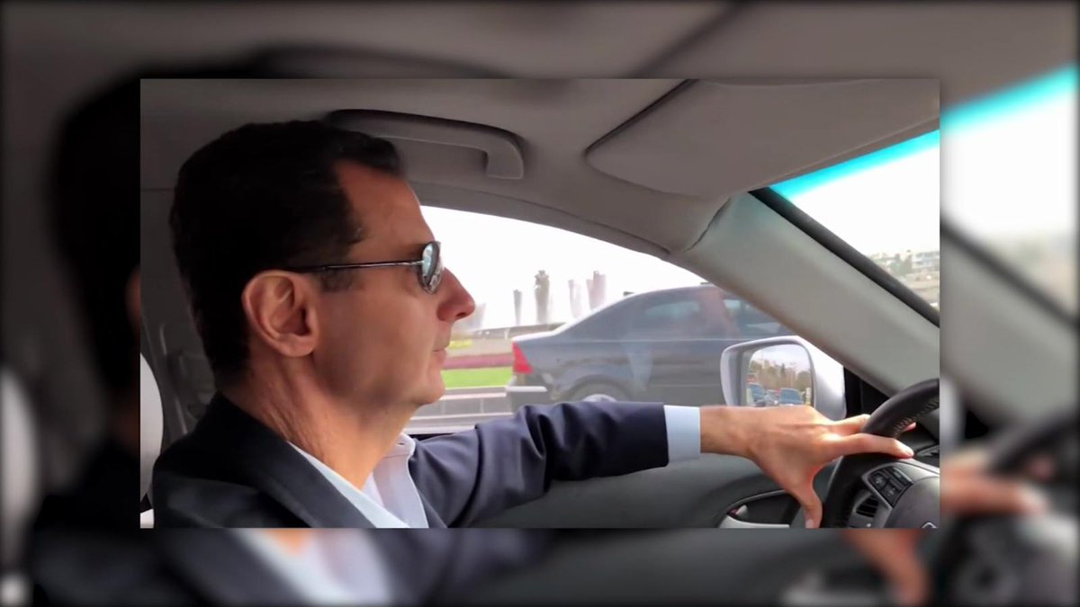 Bashar al-Assad llega a Guta Oriental co...