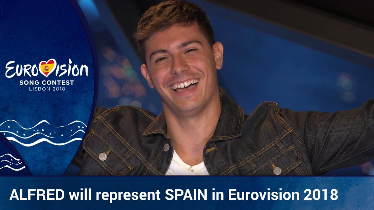 #HiEuropeWeAreAmaiaAlfred @Alfred_ot2017 will represent Spain in #Eurovision2018 https://t.co/DUij9ZjjLz #OtVisionAzores
