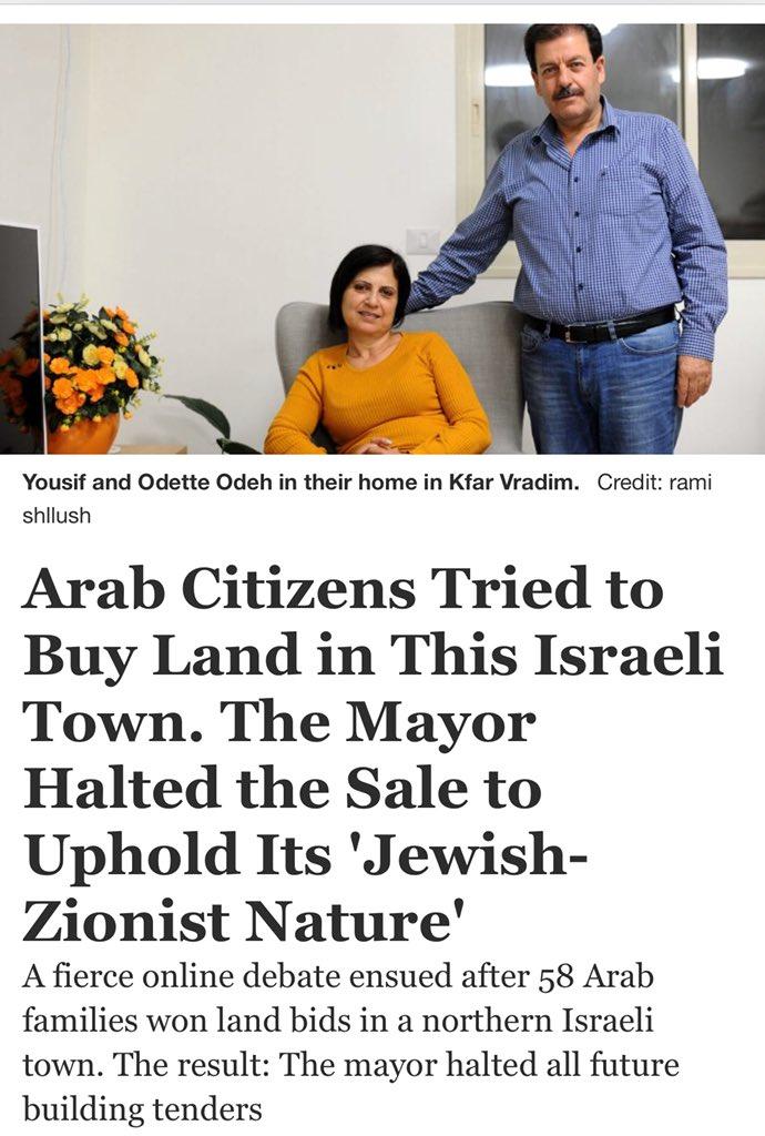 """What's this 'apartheid' you speak of?""..."