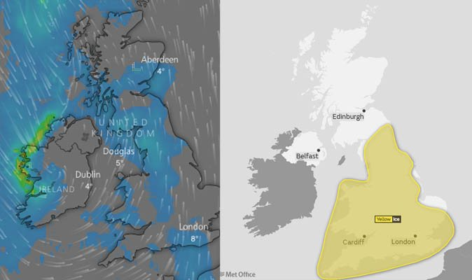 UK snow: Five day weather forecast – what to expect this week https://t.co/7ubnSUC38N