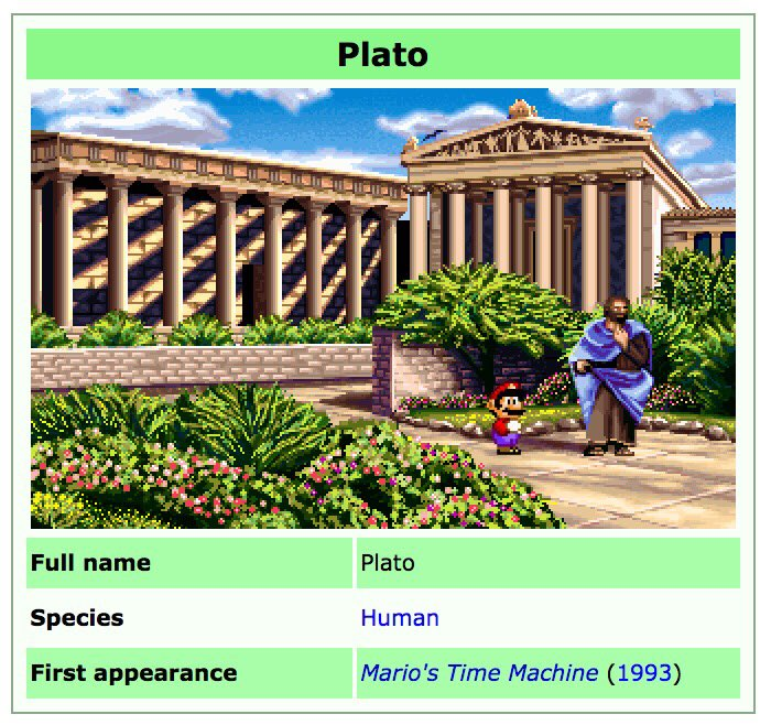 thank you mario for inventing philosophy
