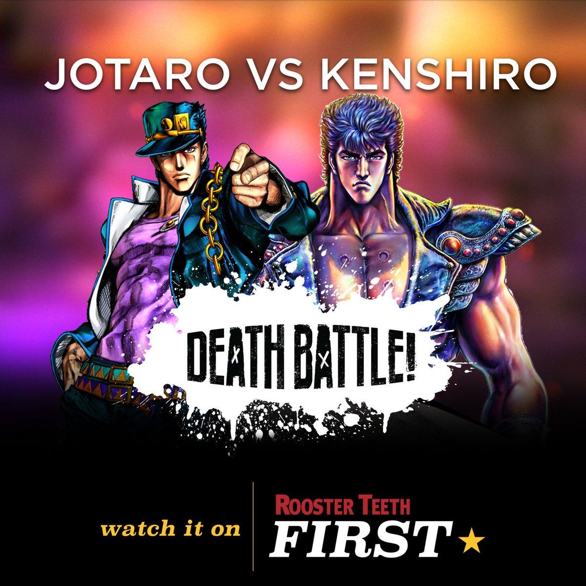 "Rooster Teeth🐓 On Twitter: ""DEATH BATTLE!: JOTARO VS"