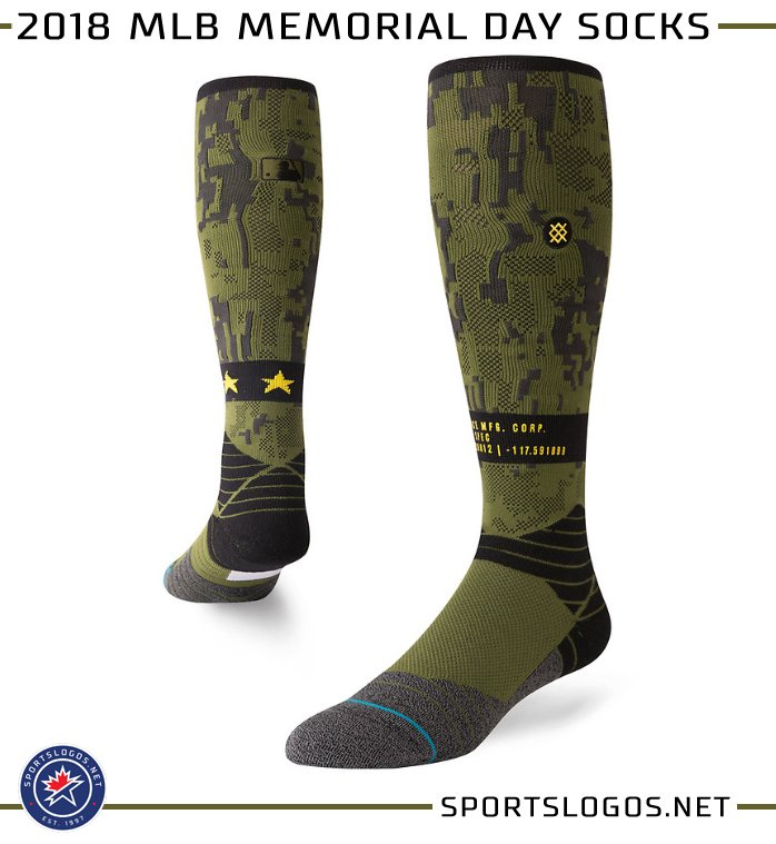 5475270a7 Our 2018 MLB Holiday Uniform post has been updated with the special sock  designs to be worn for each holiday ...