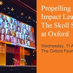 Image for the Tweet beginning: Propelling Social Impact Leaders: The