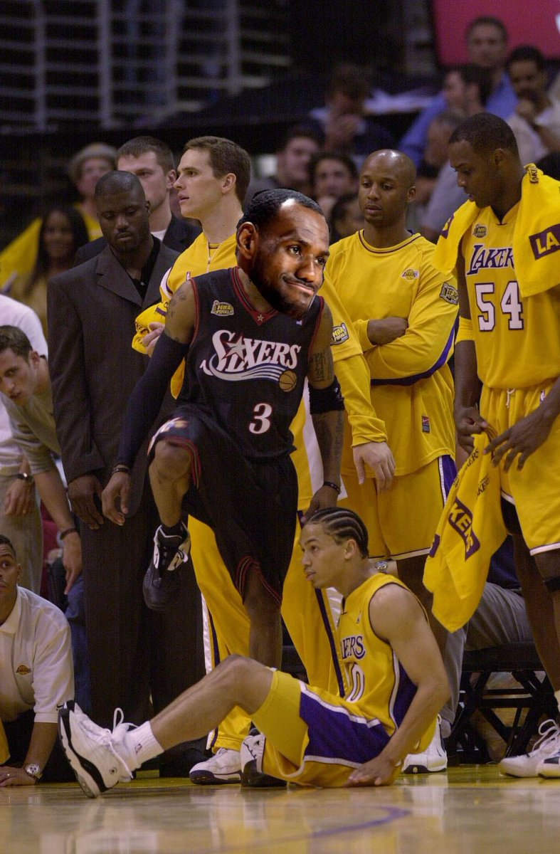 Ty Lue sick of Lebron he's not actually...