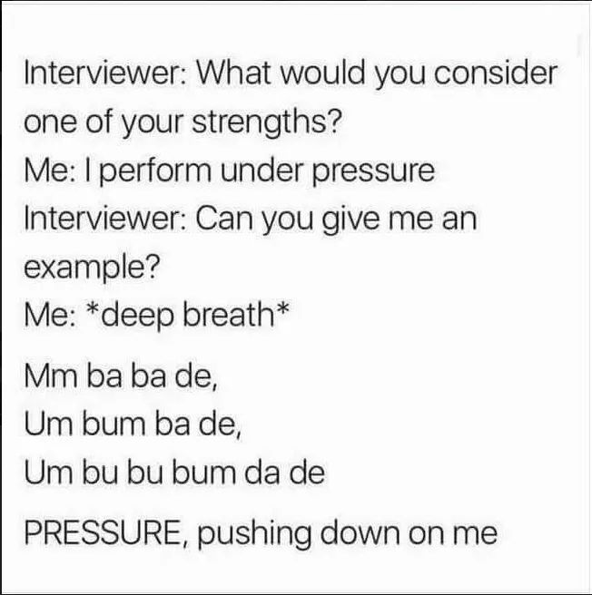 Me at my next job interview. X x https:/...