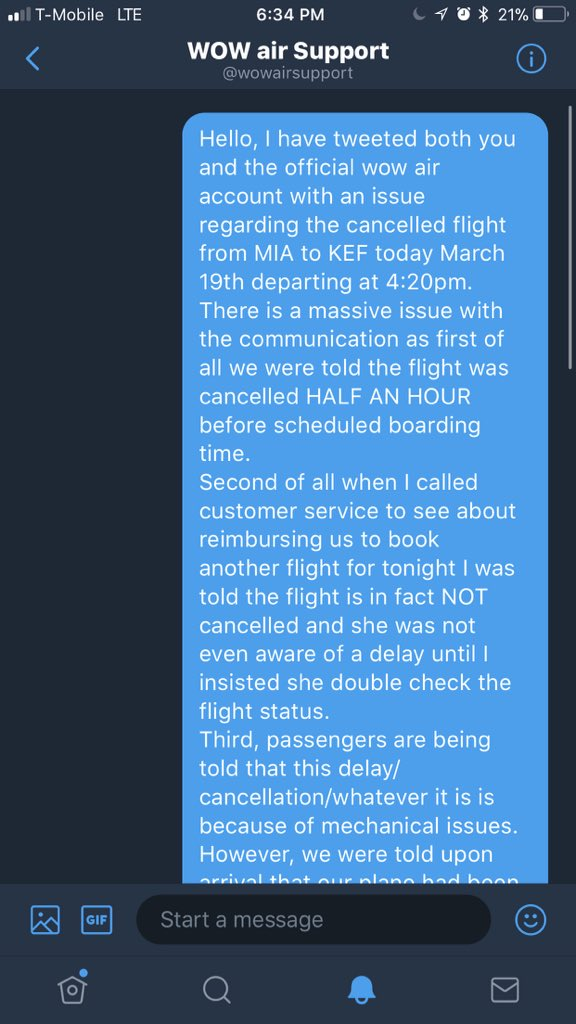 test Twitter Media - Deadass never in my life have I been this close to filing a consumer report and after looking into it there are hundreds of other complaints just like ours @wow_air @wowairsupport https://t.co/M5GyDhq6nB