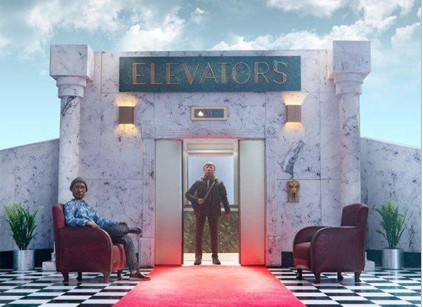 Stream @BishopNehrus new LP, Elevators: Act I & II, produced by DOOM & @KAYTRANADA. bit.ly/BishopKayDoom