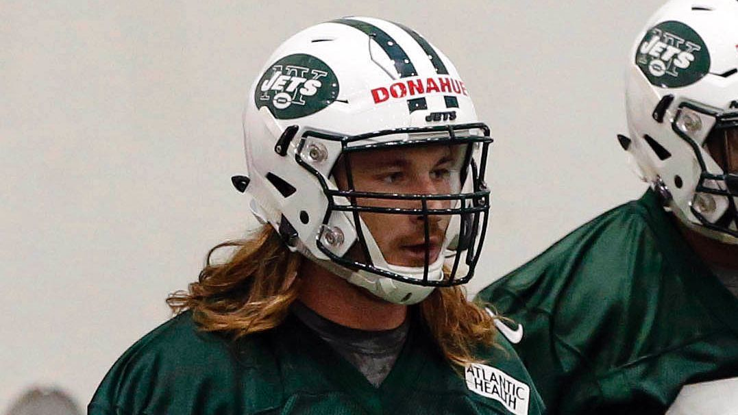 Jets' Donahue faces DUI charge from May...
