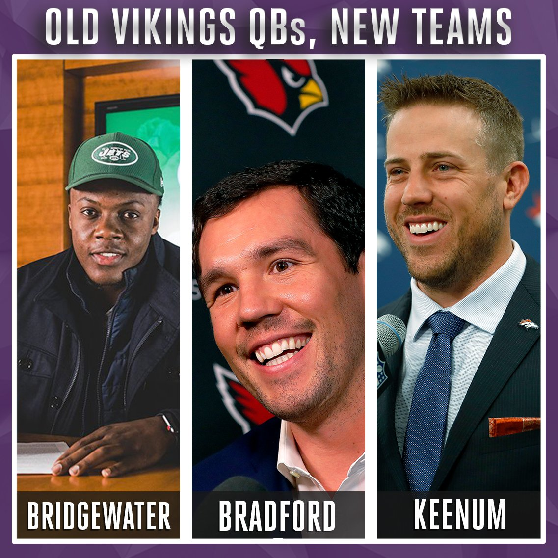 Which former Minnesota signal-caller wil...