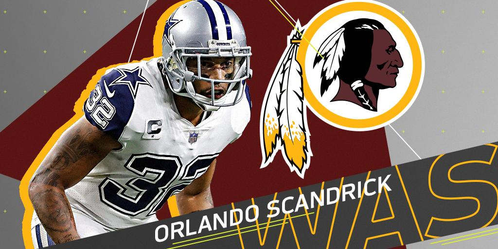 .@Redskins, CB Orlando Scandrick agree t...
