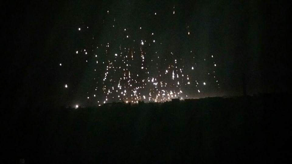It's not a fireworks, it's #Ghota under...
