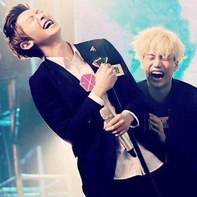 I can almost hear their laugh��                    #CHANYEOL #kai #jongin #chankai  #exo @weareoneEXO https://t.co/rCLVIbkCZr