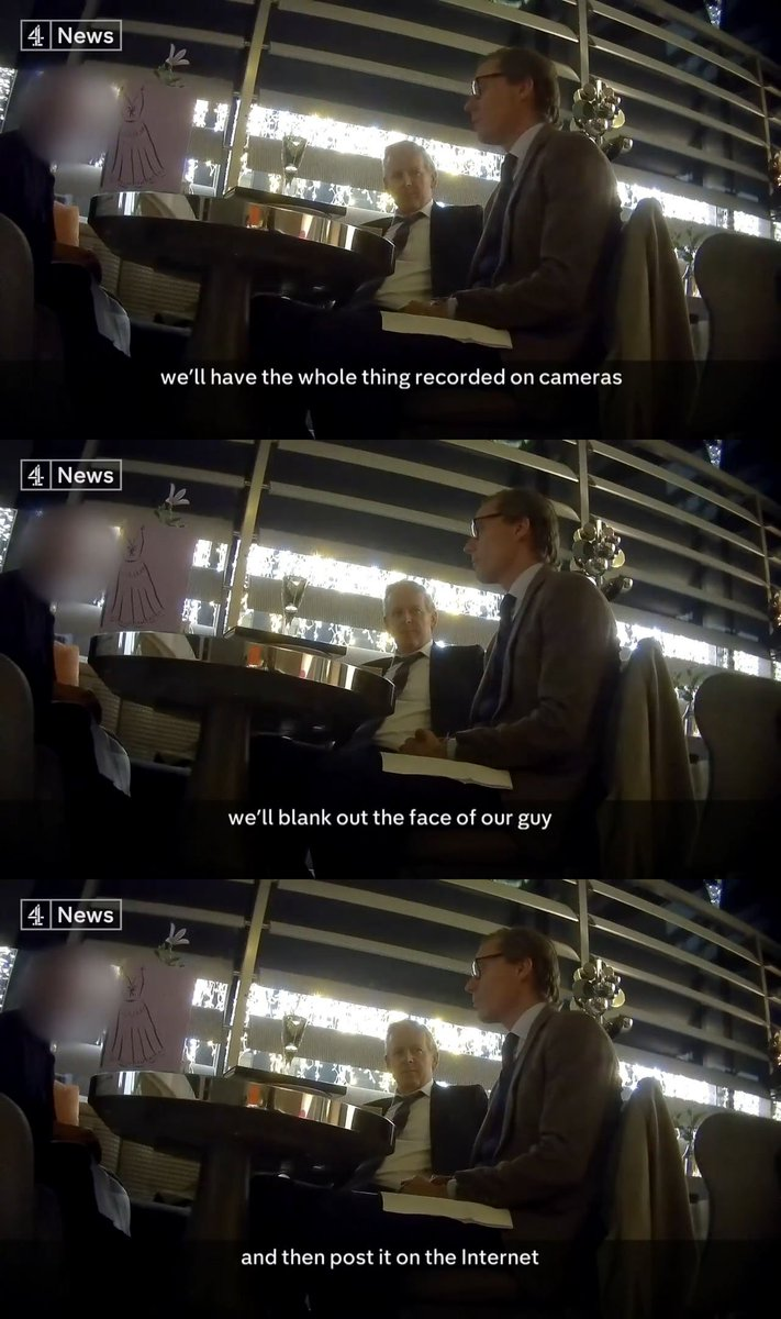 Amazing moments in journalism: Alexander Nix boasts about using hidden cameras while being filmed by a hidden camera #CambridgeAnalyticaUncovered