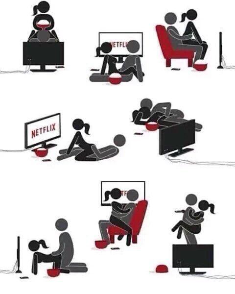 #HoyDePlano también toca 😈 ver Netflix h...