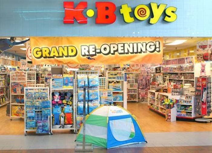 '80s and '90s kids, rejoice! KB Toys is...