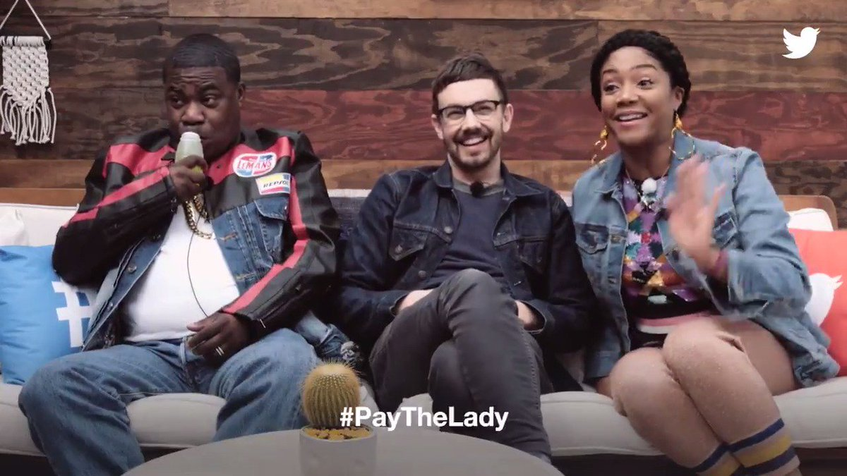 Would @TiffanyHaddish be the next host for the #Oscars? She shares her thoughts at the #TwitterHouse at #SXSW. #PayTheLady