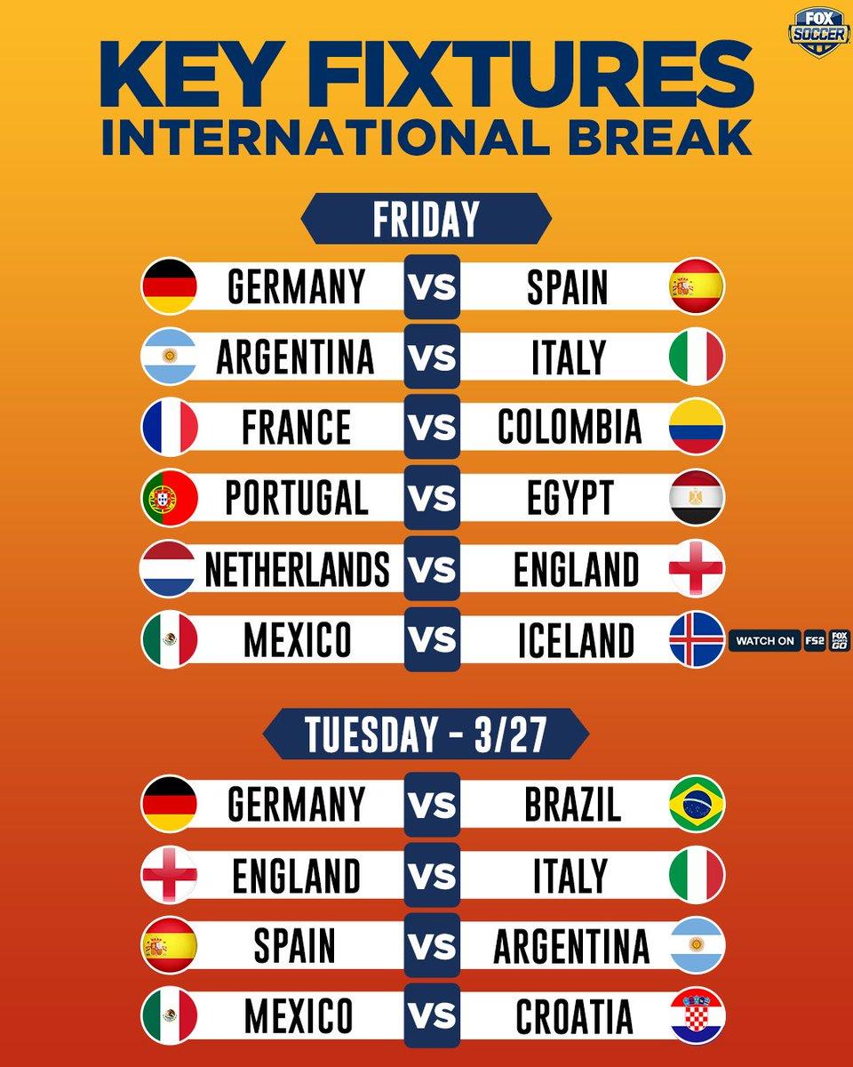 Not your average international break, is it? 🔥🔥
