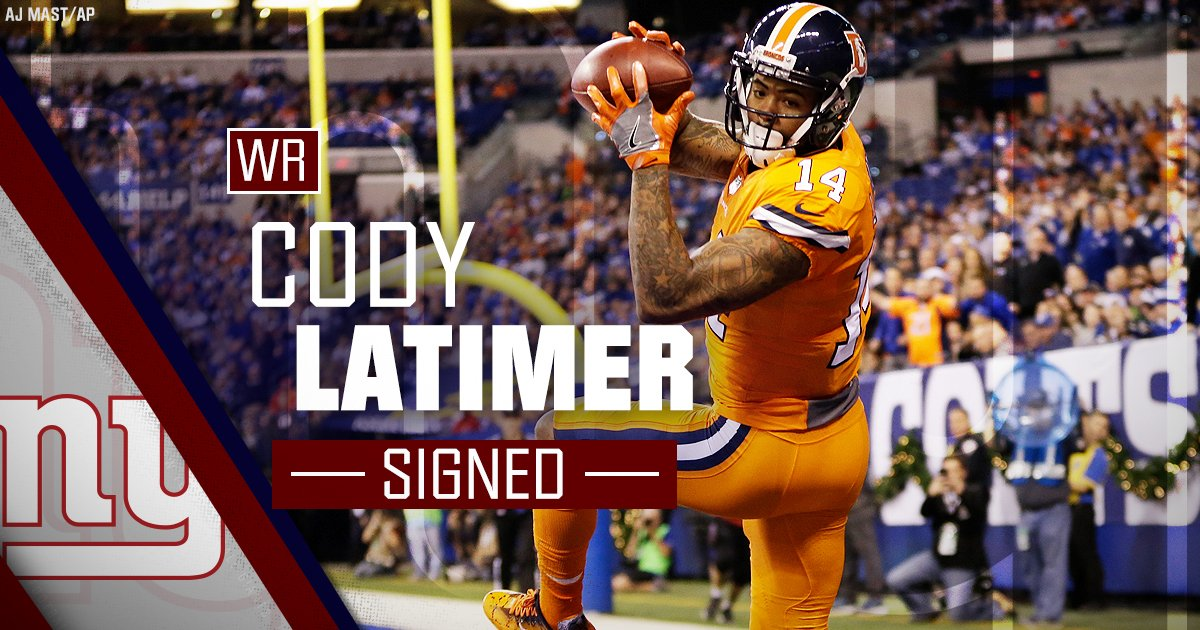 #NYGiants make several signings, includi...