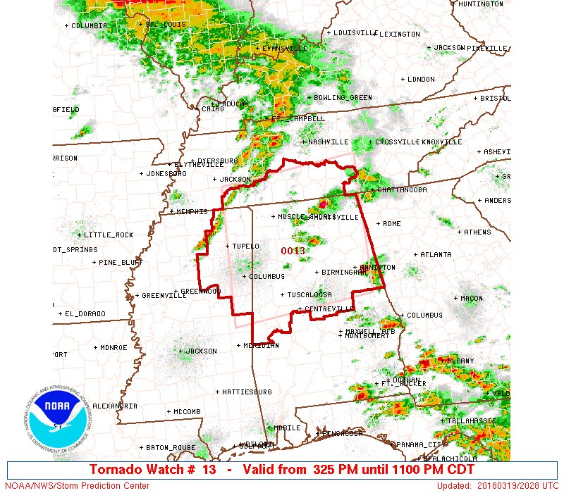 Nws Spc On Twitter A Rare Particularly Dangerous Situation Pds