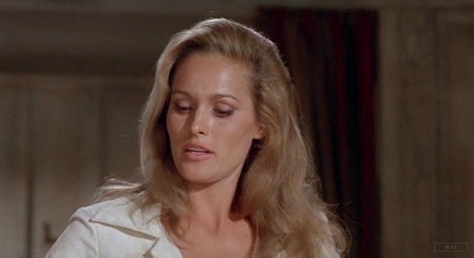 Ursula Andress is now 82 years old, happy birthday! Do you know this movie? 5 min to answer!