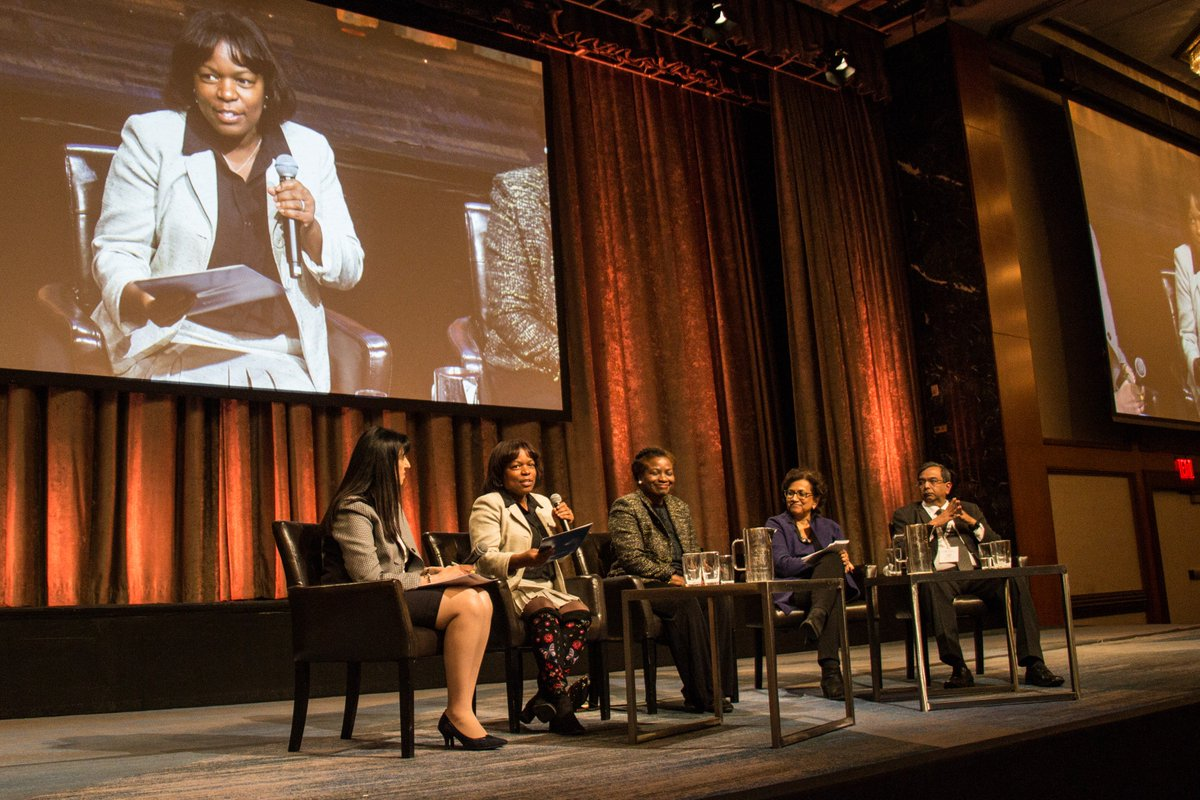 Honored to share the #CUGH2018 stage this past weekend with @klopperhc @atayeshe @geetaraogupta and Dr. Reddy @thePHFI, who are fighting back in the #WarOnWomen. –Latanya Mapp Frett #resistanceisglobal