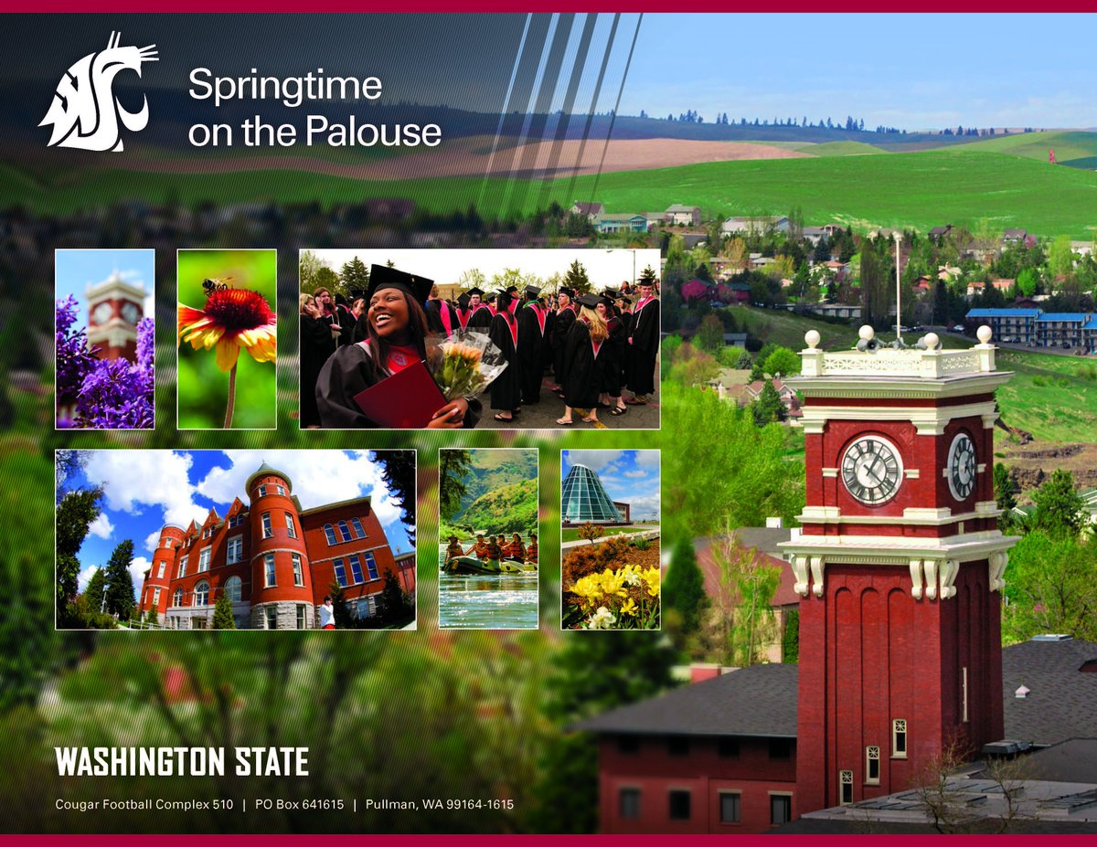 Tomorrow is the first day of Spring! Tough to beat this time of year on the Palouse! #GoCougs