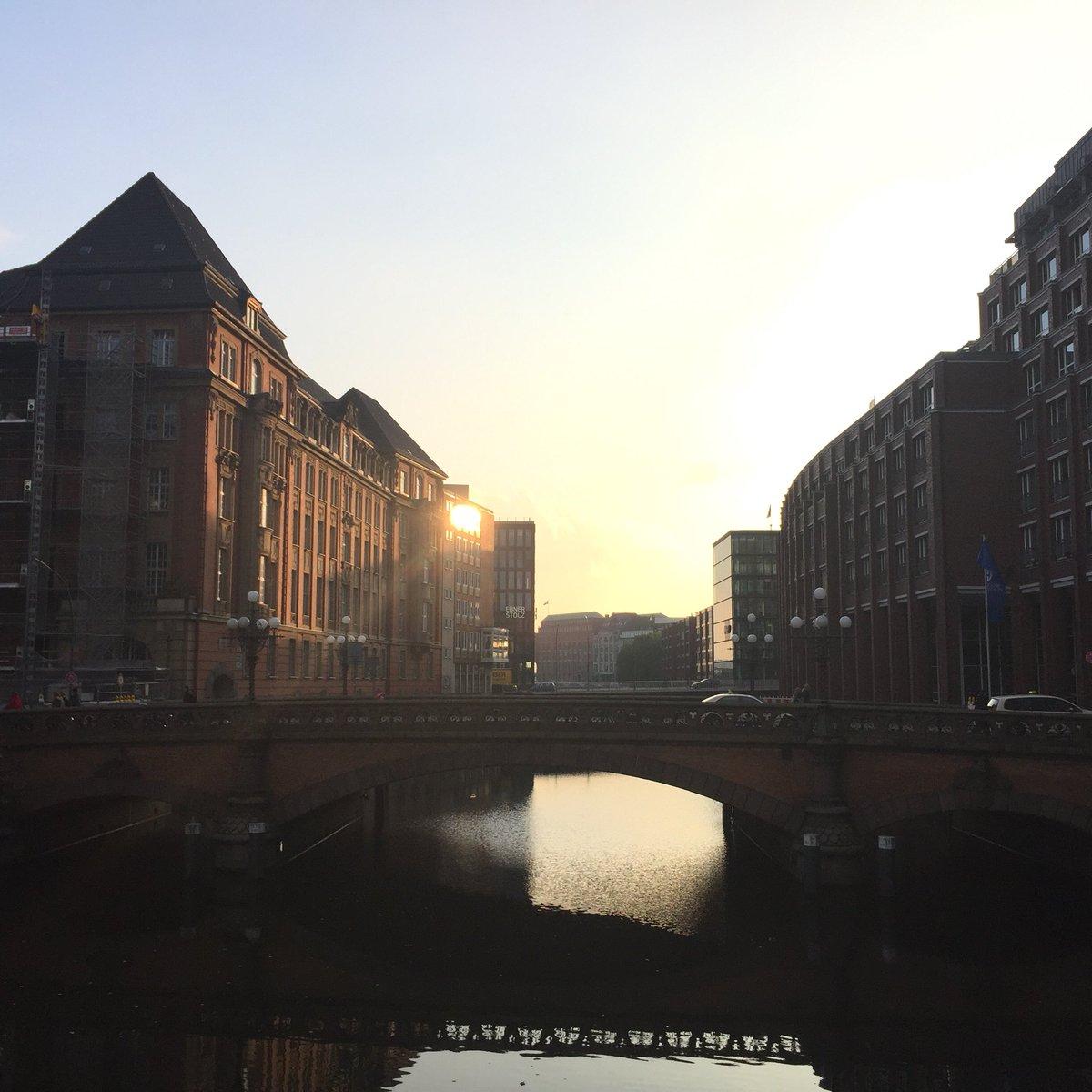 Обои улица, германия, здания, гамбург, красота, Облака. Города foto 17