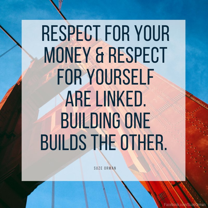 Respect yourself and respect your money! #MondayMotivation