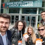 Image for the Tweet beginning: The GameCredits team has arrived
