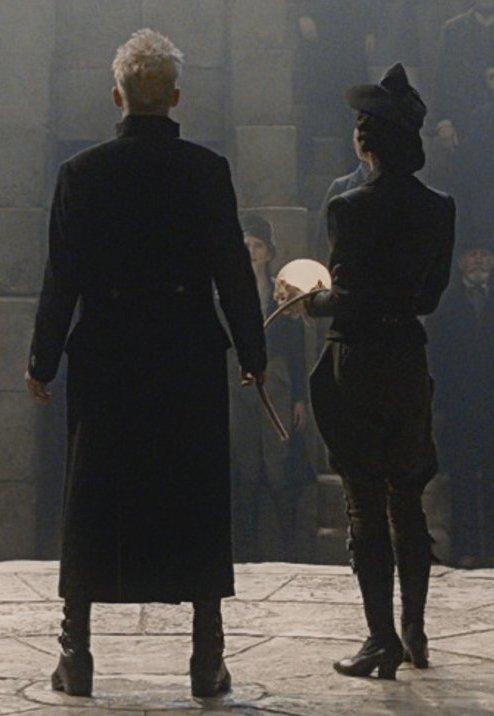 Does Grindelwald have Vinda Rosier's han...