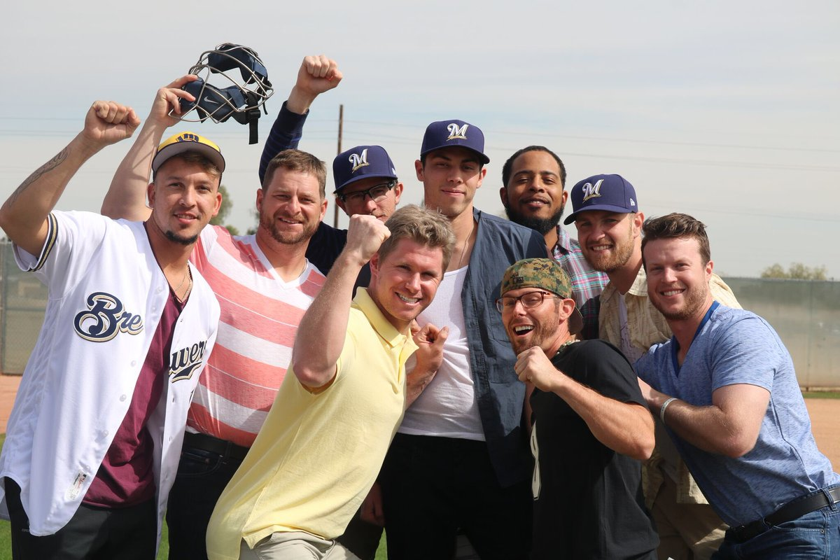 9e3272d283a96 Behind the scenes of how the  Brewers brought The Sandlot back to life and  went viral  http   atmlb.com 2DG7LTE pic.twitter.com gVN1kAlec0
