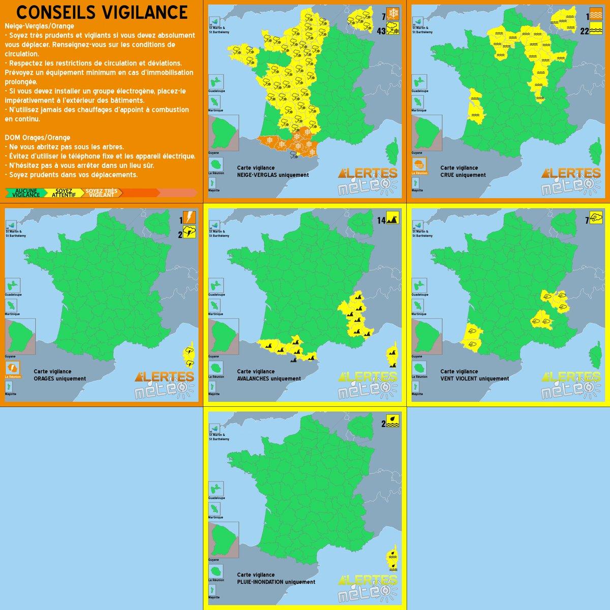 #VigilanceOrange Latest News Trends Updates Images - AlertesMeteo_fr