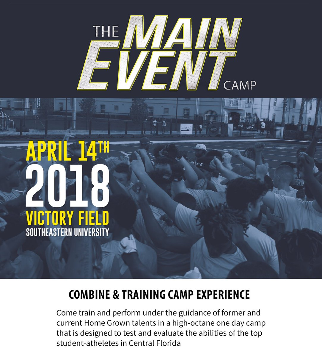 The Main Event Camp on Twitter: