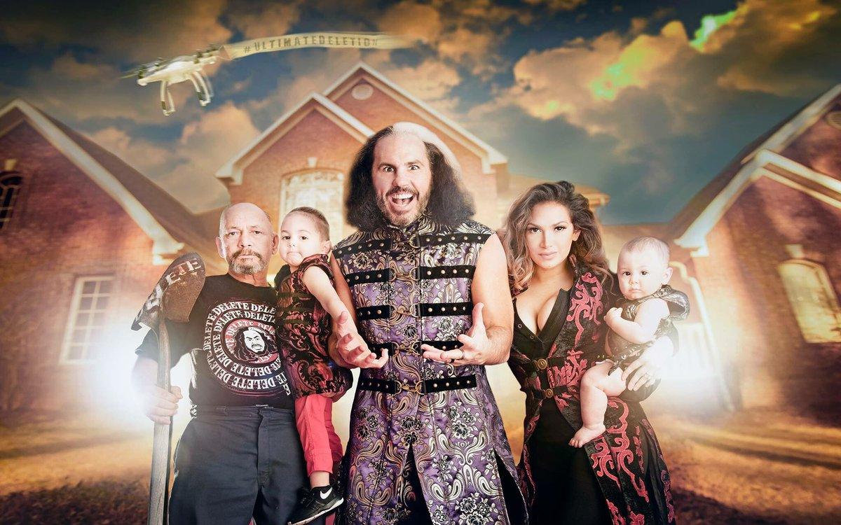 My family, #HouseHardy, is my MAGIC.. They always have been. Tonight on #RAW, I bring MAGIC & FUN back to professional wrestling. The #UltimateDELETION happens on @WWE #RAW this Eve.. Tune in & INDULGE.