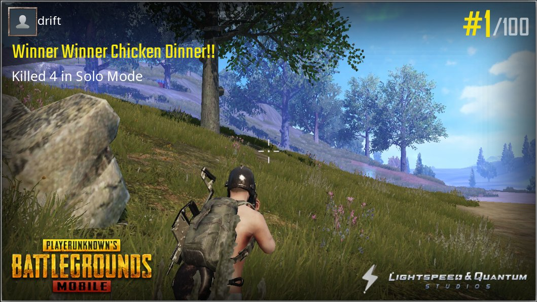 Drift0r Peru On Twitter Chicken Dinner For My First Game Of