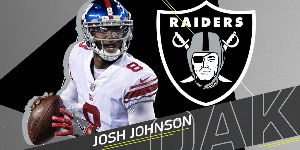 Meet the @RAIDERS' new signal-caller: ht...