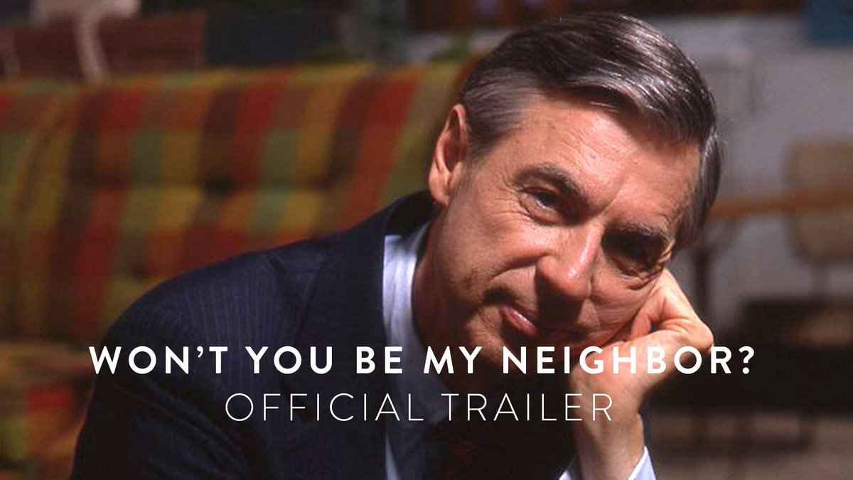 The trailer for the new @MrRogersMovie d...