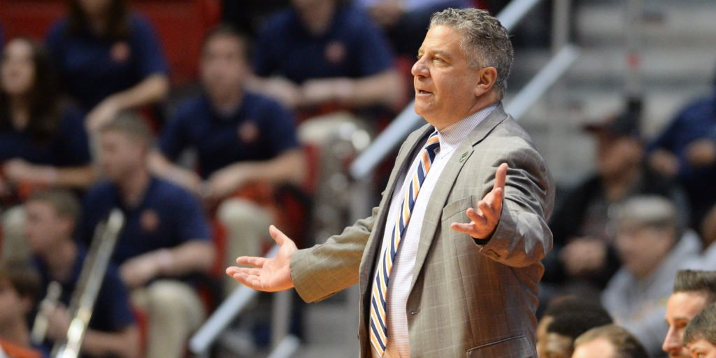 Auburn coach Bruce Pearl comments on his...