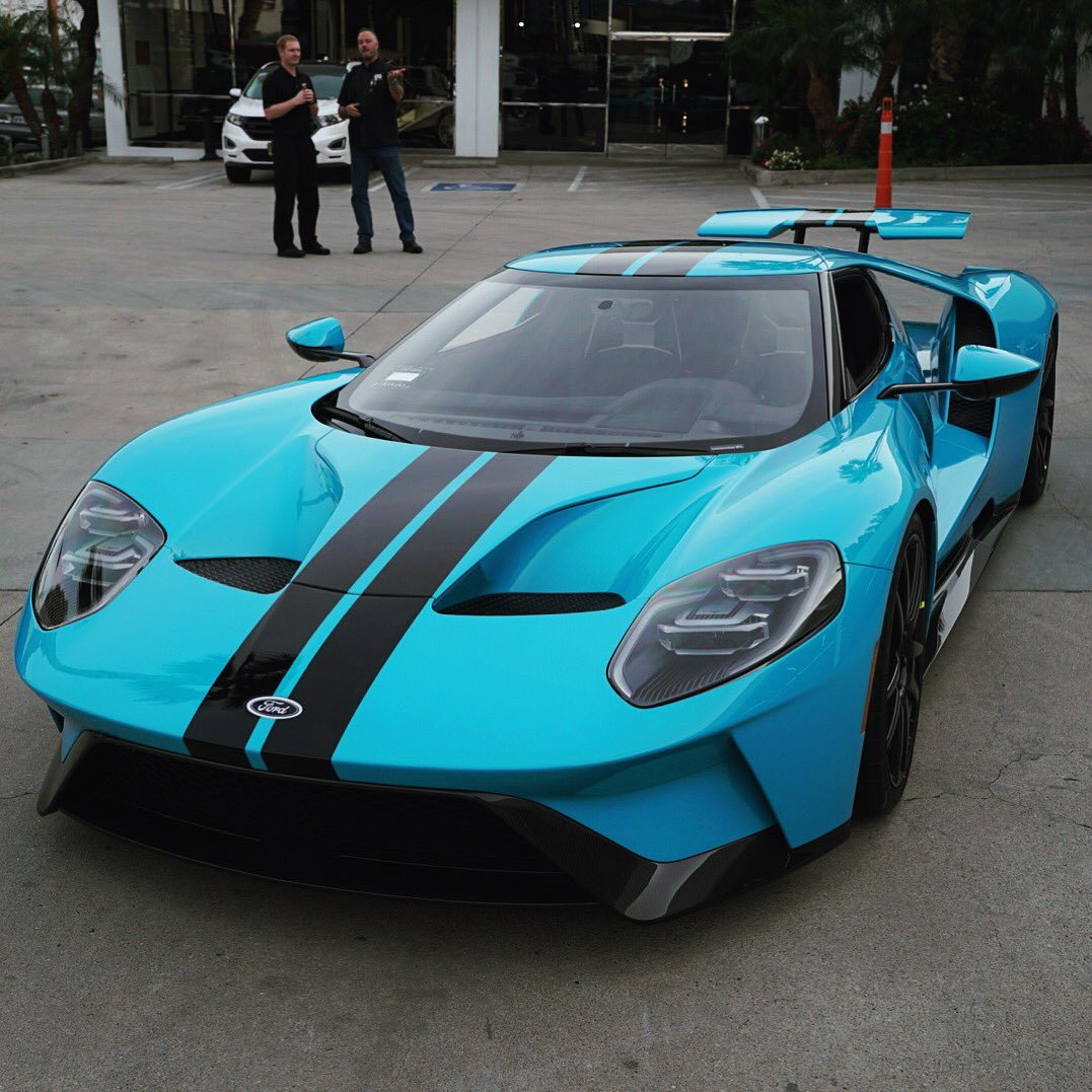 Ford Gt In Miami Blue Paint Couldnt Be Happier With How It Turned Out Will Be Posting More Images In A Bit But At Least Wanted To Get One Out
