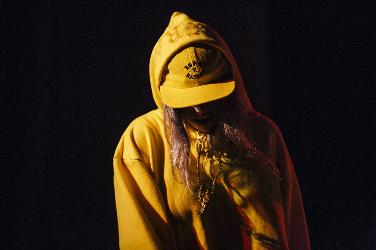 .@billieeilish performing at the @sxsw @PeppermintClub_ x @wfnm Showcase. Photos by @GregNoire.
